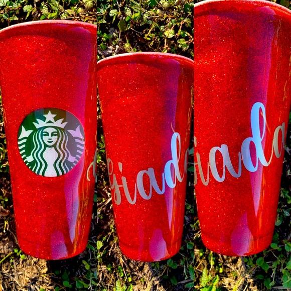 Starbucks venti custom cup